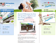 Tablet Preview of natuerlich-dill-apotheke.de